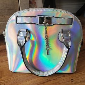 Holographic Aldo Bag